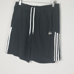 Adidas  men short pants Size L Black and white